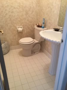 Existing Powder Room