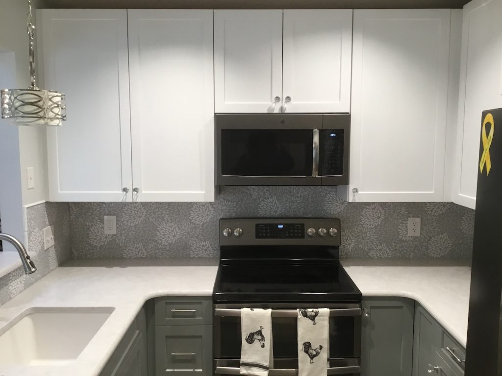 Newly Remodeled Townhouse Kitchen
