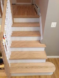 Sanded Treads and Handrail