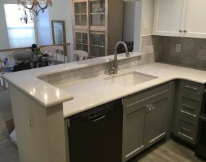 New Countertops, Sink and Faucet