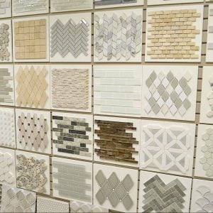 Wall of Tile Samples