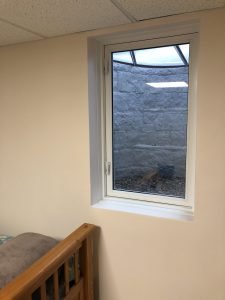 Basement Bedroom Egress Window by Monk's