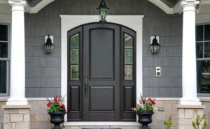 Lemieux Torrefied Wood Exterior Doors