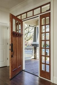 Simpson Wood Front Door