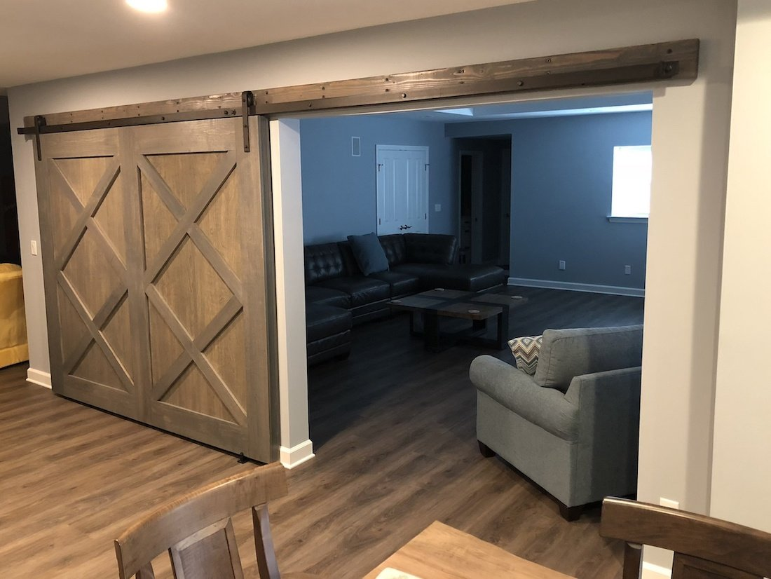 Custom Made Barn Doors by Monk's