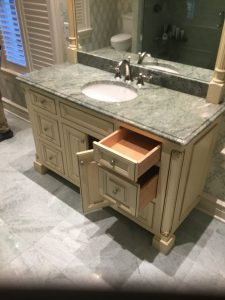 Existing glazed vanities