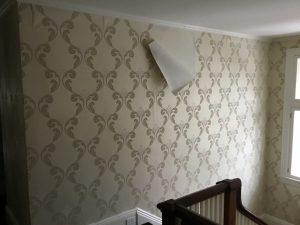 Before: Wallpaper in Stairway