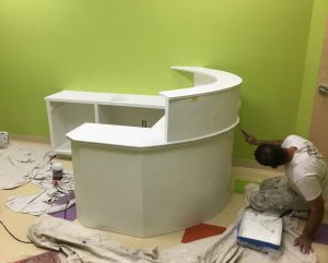 Priming the Reception Desk