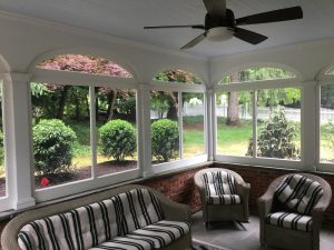 Newly Screened-In Porch