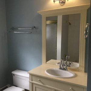 Single Vanity Before Remodel