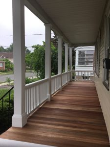 Gorgeous Rebuilt Front Porch