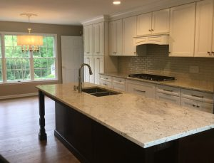 Get a New Kitchen with Island and Open Eating