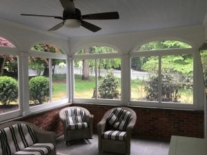 Framed and Screened Windows and Transom