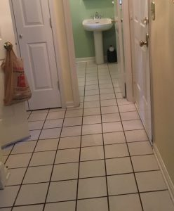 Before - Foyer Into Powder Room