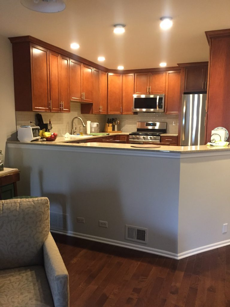 New Townhouse Kitchen Remodel