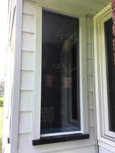 New Garden window from exterior