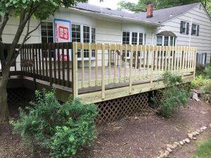 Damaged Deck Repairs