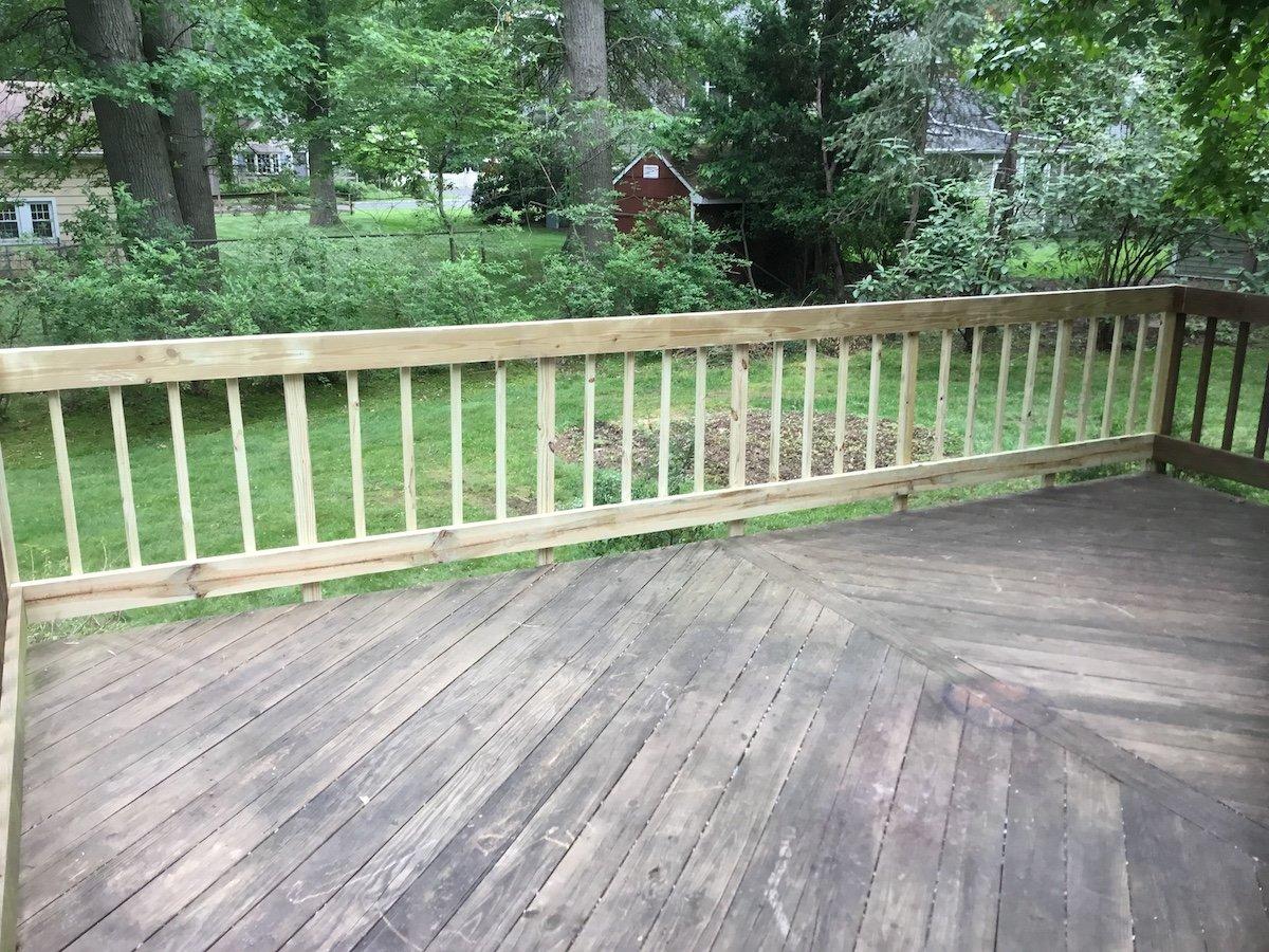 Damaged Deck Repair
