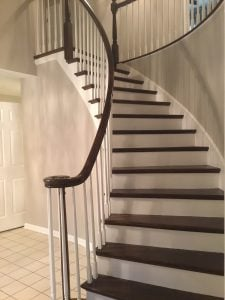 Stair Refinishing and Railing Staining