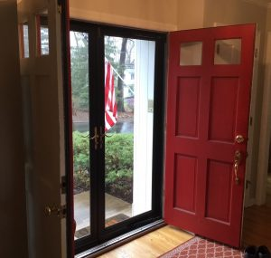Existing Double Doors
