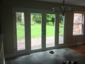 Replacing Sliders with French Doors