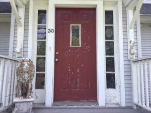Existing Door and Side Lites