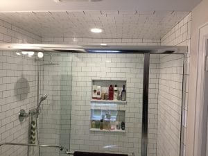 Closet to Shower Conversion