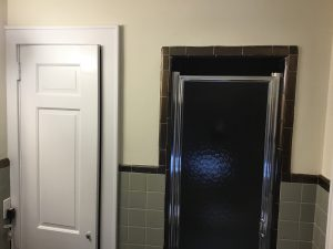 Very Narrow Shower Next to Narrow Closet
