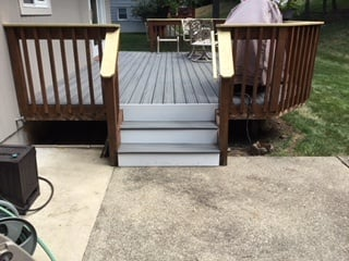 New Floorboards and Handrails