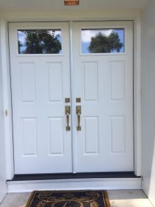 New Double Front Doors