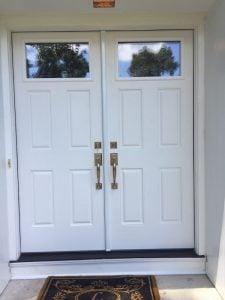 New Double Front Doors