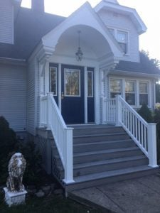 Portico Repair and New Railing System