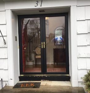 Storm Doors to be Removed