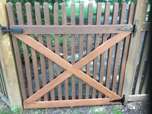 New Gate, Hinges and Latch