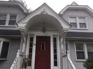 Rotted Portico and Railings