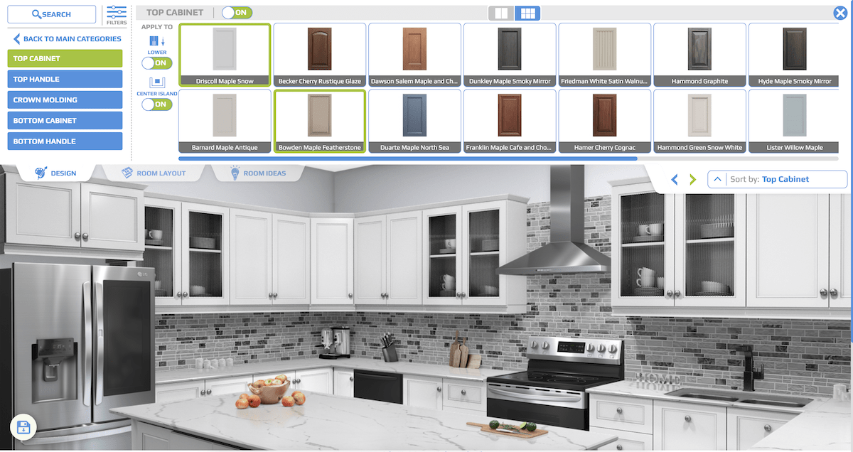 Kitchen Cabinets Virtual Design Tool Online Design Tools   Monk's Home Improvements