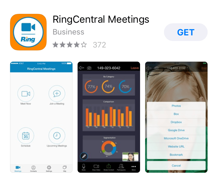 RingCentral Meetings App