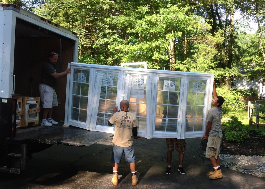 Preparing to Install the Bay Window