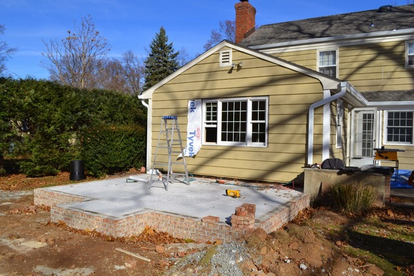 Foundation Set for Outdoor Living Room