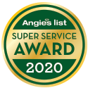 2020 Angie's List Super Service Award Winner